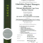 GladAfrica-Project-Managers-ISO-Certificate